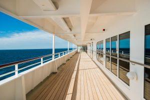 Deck an Bord von MS Europa