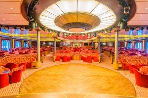 Die Europa Lounge auf MS Europa
