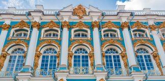 Fassade des Katharinenpalasts