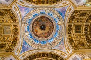 Kuppel der Isaakskathedrale in Sankt Petersburg
