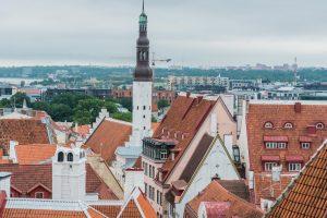 Blick auf die Altstadt von Tallinn (Reval)