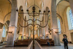Inneres der Nikolauskirche in Tallinn