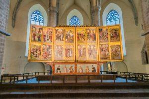 Altar der Nikolauskirche in Tallinn