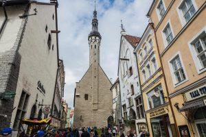 Das Rathaus in Tallinn