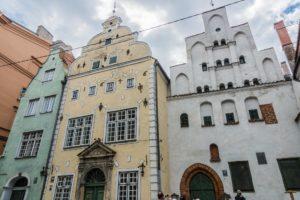 Drei Brüder in Riga