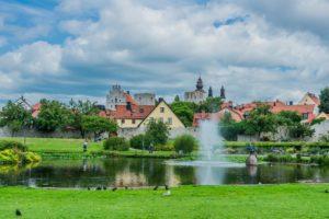 Stadtpark Alemendalen in Visby