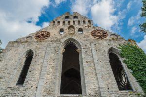 Ruine der Katharinenkirche in Visby