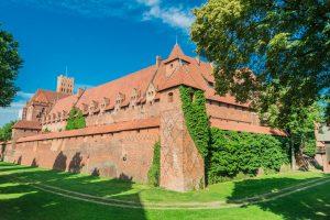 Die Marienburg bei Danzig