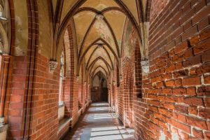 Gotischer Gang in der Marienburg