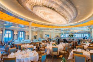 Restaurant auf MS EUROPA