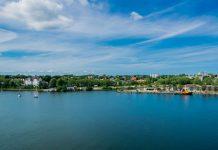 Landschaft am Nord-Ostsee-Kanal
