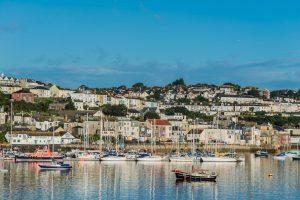 Hafen von Falmouth in Cornwall