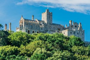 Abteil Saint Michaels Mount in Cornwall
