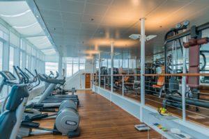 Fitnesscenter auf MS Europa
