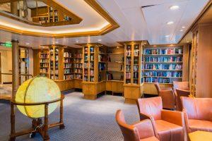 Bibliothek auf MS Europa