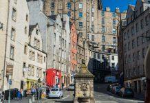In der Altstadt von Edinburgh