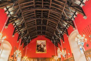 Grosse Halle in Edinburgh Castle