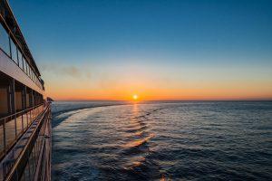 Sonnenaufgang vor der Irischen Küste