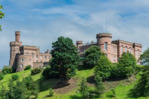 Inverness Castle in Schottland