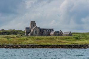 Die Abtei auf der Insel Iona