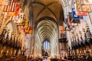 Inneres der Patricks Kathedrale in Dublin