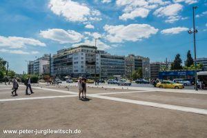Syntagma Platz in Athen