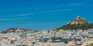 Die Innenstadt von Athen