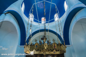 Inneres der Nikolauskirche von Skiathos Stadt