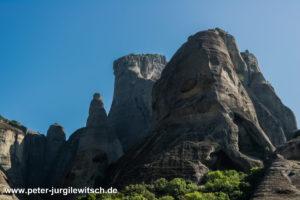 Meteora Gebirge in Griechenland