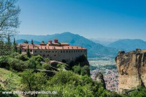 Kloster St. Spephanus, Meteora