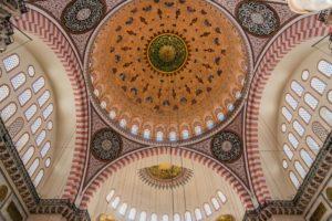 Kuppel in der Süleyman Moschee in Istanbul