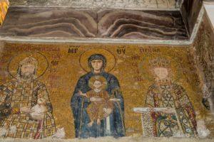 Mosaiken aus dem 12. Jh. in der Hagia Sophia