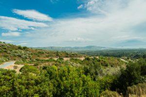 Landschaft auf der Insel Samos