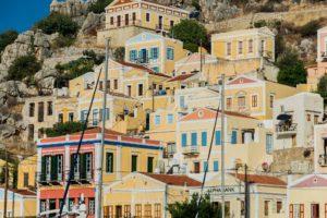 Häuser auf der Insel Symi