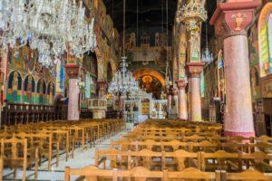 Inneres der Kathedrale von Rhodos Stadt