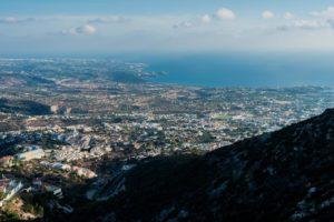 Blick auf die Küste bei Paphos auf Zypern