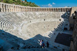 Zuschauerrraum im Theater von Aspendos