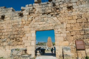 Historisches Tor in Perge