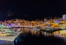 Yachten im Hafen von Monte Carlo