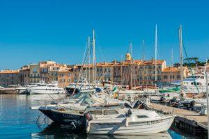 Im Hafen von St. Tropez