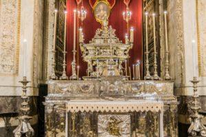 Grab der Heiligen Rosalia von Palermo