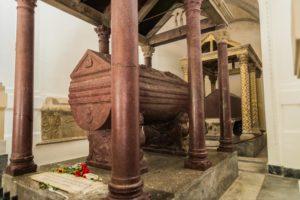 Sarkophag Friedrichs II. in Palermo