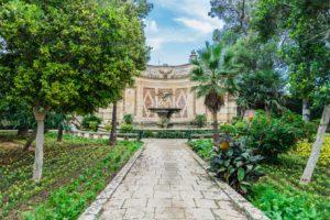 Anton Gärten auf Malta