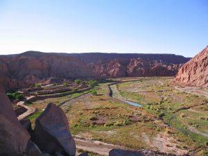 Tal bei San Pedro de Atacama