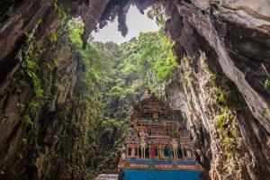 Batu-Caves-in-Malaysia