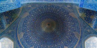 Kuppel-in-der-Freitagsmoschee-Isfahan