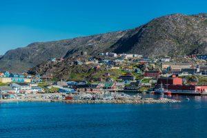 Qaqortoq auf Grönland