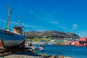 Alte Werft in Qaqortoq