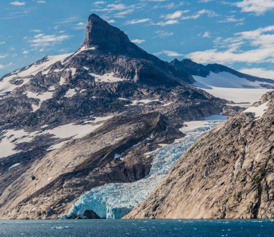 Prins Christian Sund auf Grönland