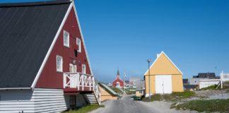 Hauptstadt Nuuk auf Grönland